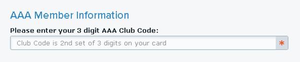 Enter Club Code