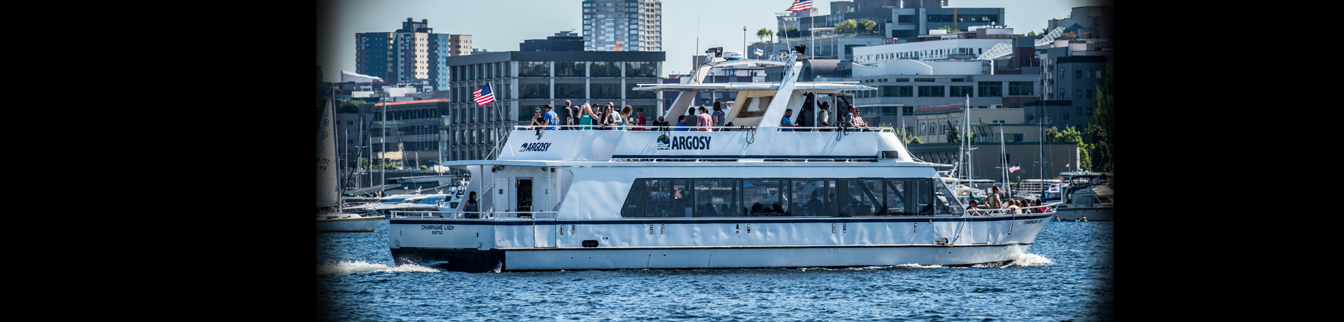 Argosy Cruises offers narrated boat tours of Seattle and surrounding areas year-round! Our fleet offers public tours as well as yacht charter services, contact us today!